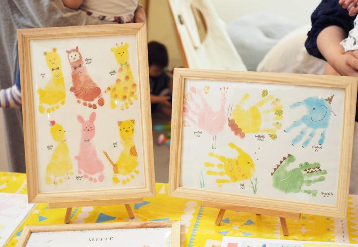 潜入リポート♡オシャレな手形アートで子どもの成長記録を可愛く残そう!