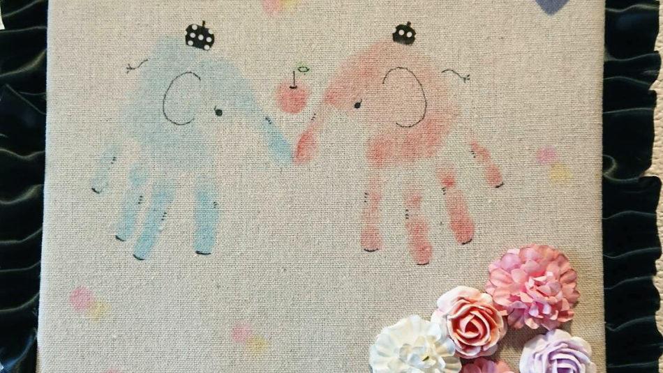 香るリボン手形アート教室|大分の子連れで楽しめるイベント♪